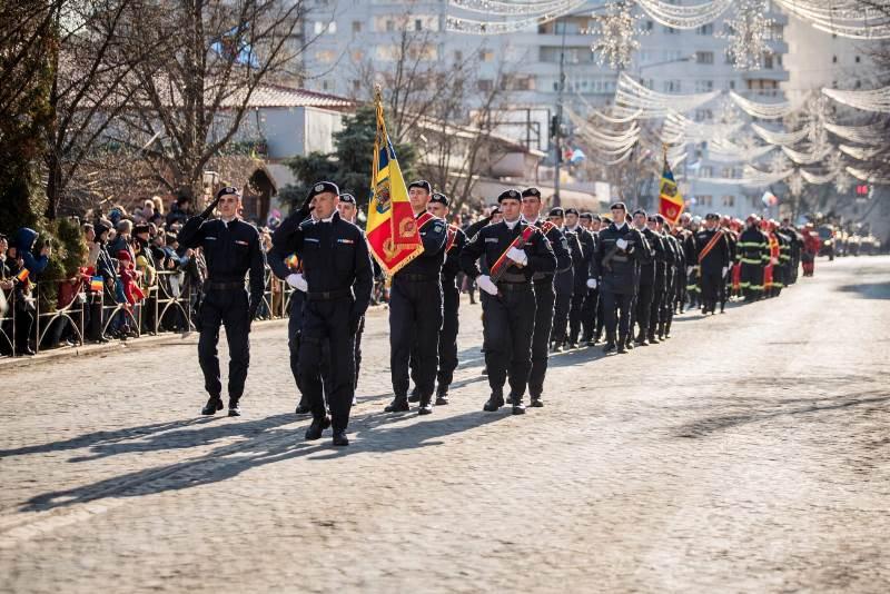 jandarmeria vrancea 24 ianuarie 1 - 200 de jandarmi mobilizați pentru manifestările Zilei Unirii Principatelor Române