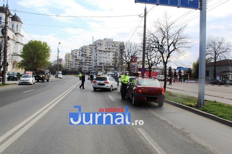 actiune ipj stare de urgenta 1 - FOTO: Polițiștii vrânceni au amendat 184 de persoane care nu au respectat prevederile Ordonanței Militare