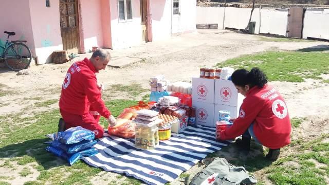 crucea rosie vrancea masuri coronavirus 2 - FOTO: Crucea Roșie Vrancea, misiuni pentru limitarea răspândirii COVID-19, în Vrancea