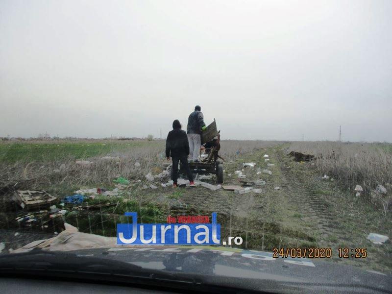 gunoi caruta politia locala 4 - FOTO: Au descărcat gunoiul în mijlocul câmpului! Polițiștii locali i-au amendat cu câte 2.000 de lei