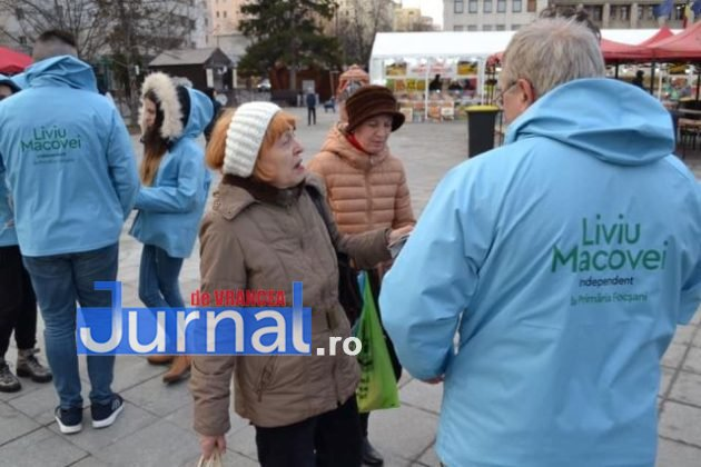 liviu macovei candidat independent primaria focsani echipa 1 630x420 - FOTO: Liviu Macovei și echipa sa, o zi în mijlocul focșănenilor