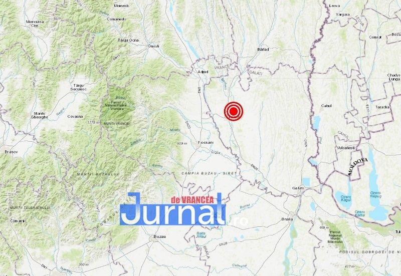 cutremur harta - ULTIMĂ ORĂ: Cutremur PUTERNIC resimțit în Vrancea! Ce magnitudine a avut seismul