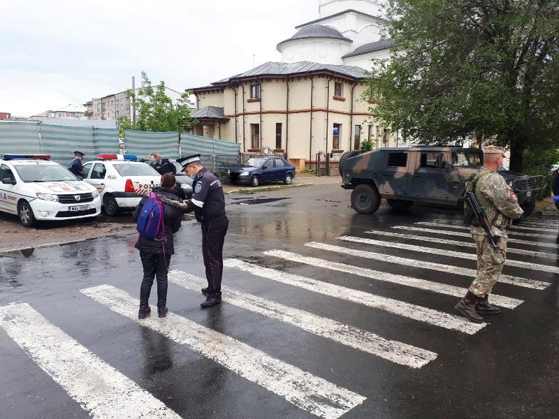actiune politia coronavirus 2 - FOTO: Amenzi și confiscări de bunuri în urma unei acțiuni a structurilor din subordinea MAI
