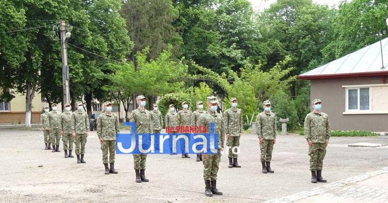 recruti brigada 2 - GALERIE FOTO: Recruții au început instrucția la Brigada 282