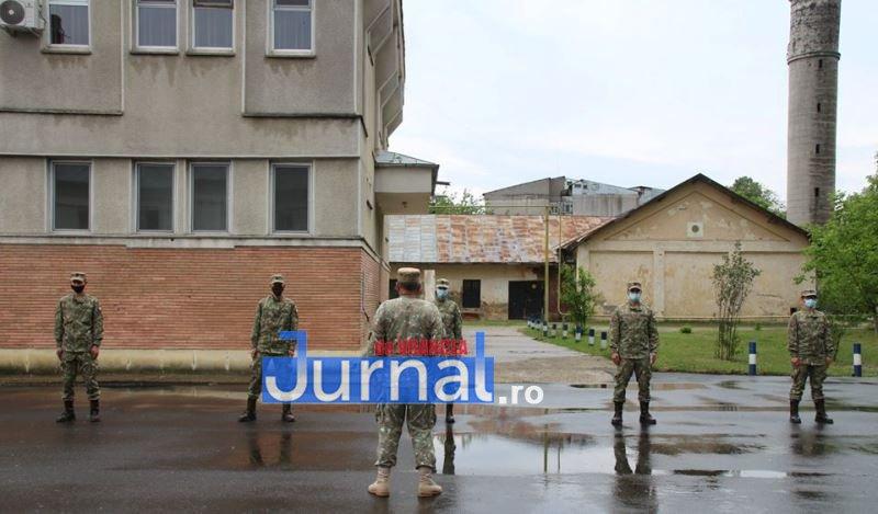 recruti brigada 9 - GALERIE FOTO: Recruții au început instrucția la Brigada 282