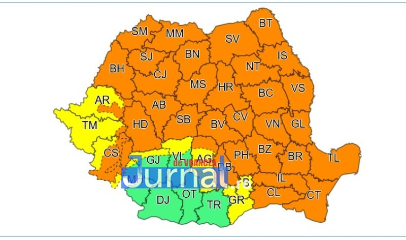 cod portocaliu vijelie - ULTIMĂ ORĂ: Meteorologii au prelungit codul portocaliu