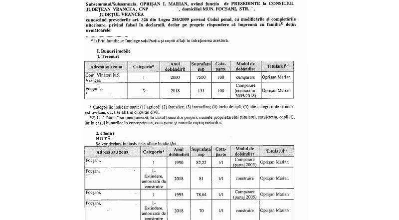 """declaratie oprisan - Marian Oprișan renunță la declarațiile """"anonime"""""""