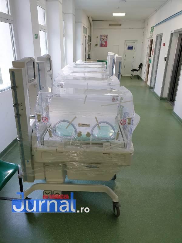 incubatoare spital 2 - Incubatoare noi pentru bebelușii de la Spitalul Județean