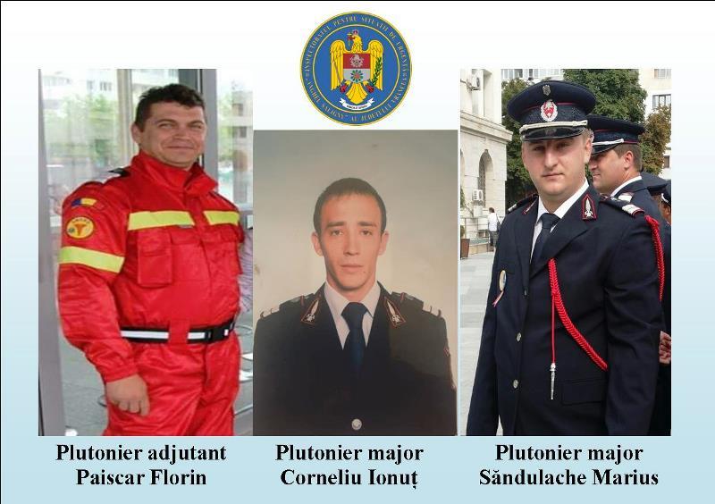 salvatori isu vrancea 1 - Aflați în afara orelor de serviciu, trei pompieri vrânceni au salvat viața unui adolescent rănit în urma unui accident de circulație!