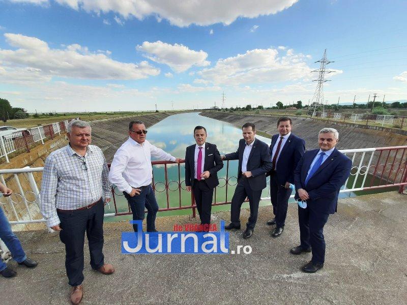 4 vizita OROS - Canalul Siret-Bărăgan revine în atenția guvernanților după ce a fost abandonat de toți cei care s-au perindat pe la conducerea țării