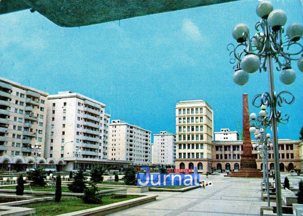 Focsani Centru 1979 v stamate 1024x730 1 - Imagini de colecție! Cinci fotografii cu Focșaniul din anii `70