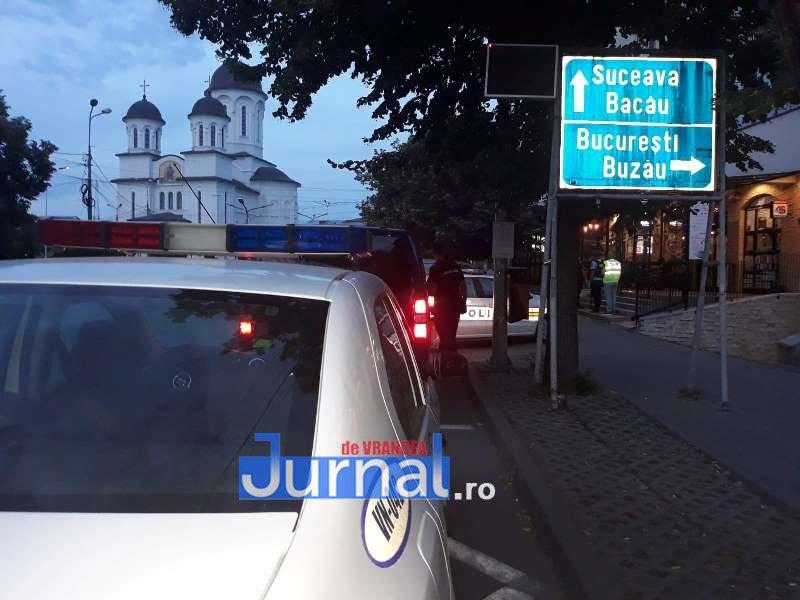 actiune iulie 2 - FOTO/ VIDEO: Polițiștii și jandarmii au demarat controalele în Focșani