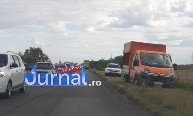 coada masini trafic centura 1 - FOTO-ACUM: Trafic de coșmar pe DN2-E85, între Focșani și Garoafa