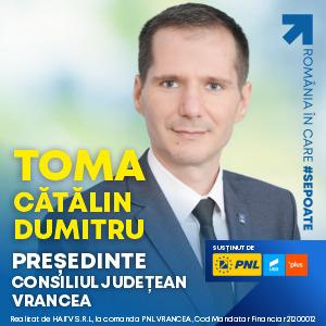 banner Catalin TOMA CJ Vrancea 300x300 1 - Jurnal de Vrancea