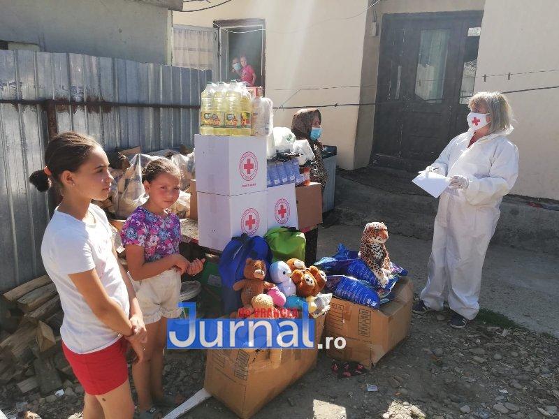 crucea rosie 3 - Familie izolată la domiciliu din cauza coronavirusului ajutată de Crucea Roșie Vrancea