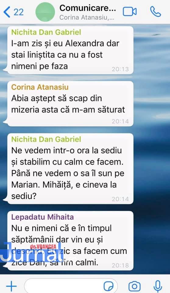whatsapp 4 - FOTO: Războiul PNL-USR de la municipiu: faza pe acuzații de înțelegeri politice