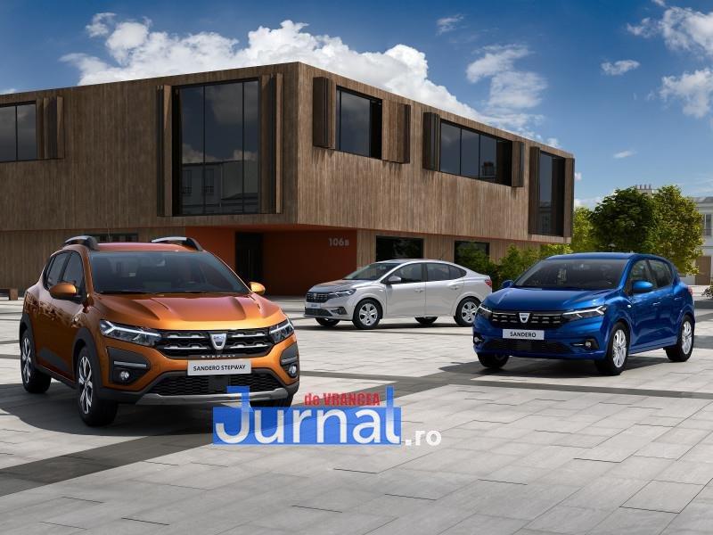 dacia 1 - FOTO: Cum arată noile modele de Dacia Logan, Sandero și Stepway