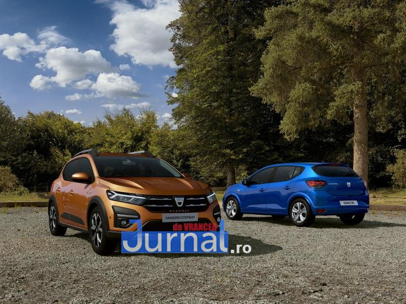 dacia 2 - FOTO: Cum arată noile modele de Dacia Logan, Sandero și Stepway