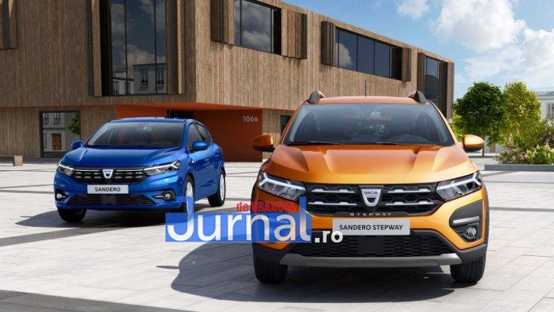dacia 3 - FOTO: Cum arată noile modele de Dacia Logan, Sandero și Stepway