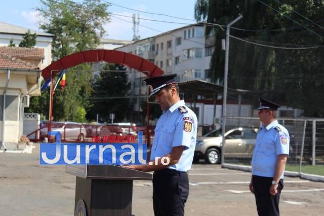 ziua pompierilor din romania 7 - FOTO: Ziua Pompierilor din România marcată la I.S.U. Vrancea cu avansări grad, diplome de merit şi emblema de onoare a I.G.S.U.