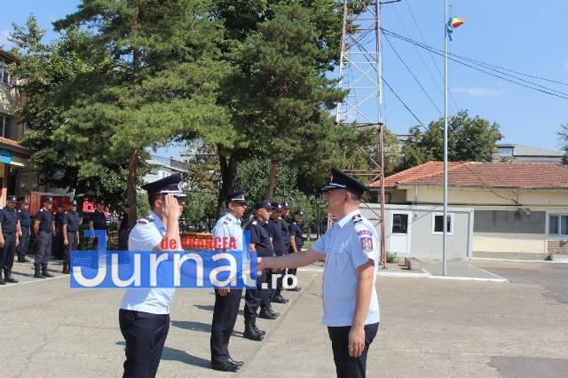 ziua pompierilor din romania 8 - FOTO: Ziua Pompierilor din România marcată la I.S.U. Vrancea cu avansări grad, diplome de merit şi emblema de onoare a I.G.S.U.