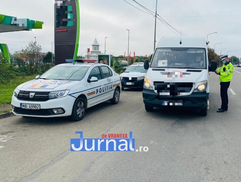 actiuni politie 3 - Acțiuni ample de verificare a transportatorilor de marfă și călători în județul Vrancea