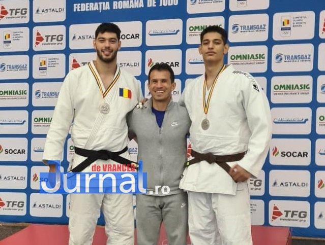 fratii stoica - CS Unirea Focșani, două titluri de campion național la CN de Judo U21 de la Brașov