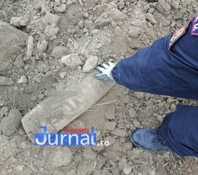 munitie explodata 2 - 40 de elemente de muniție distruse azi în poligonul de la Nănești