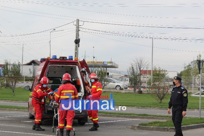pompieri 3 - ISU Vrancea și-a testat forța de reacție în cadrul unui amplu exercițiu!