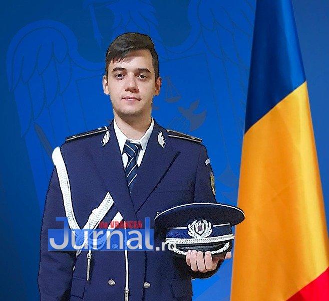 Drapel Alexandru Iancu - Tânăr polițist vrâncean - campion național la taekwondo!