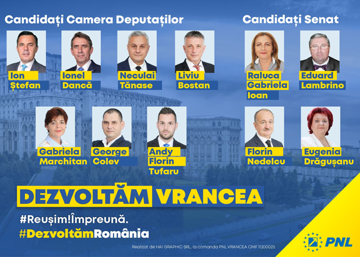 Candidati PNL Vrancea