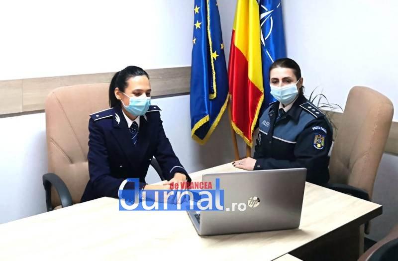 """politie 1 - """"BE SAFE ONLINE"""", o campanie IPJ Vrancea de prevenire a traficului de persoane, consumului de droguri și a victimizării minorilor"""