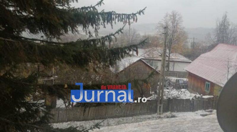 zapada vintileasca 2 - FOTO/ VIDEO: Vintileasca a fost acoperită de straie albe