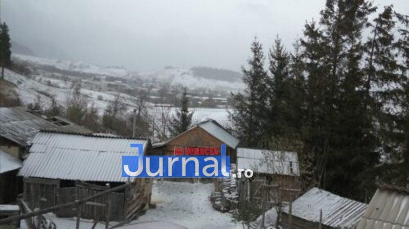 zapada vintileasca 3 - FOTO/ VIDEO: Vintileasca a fost acoperită de straie albe