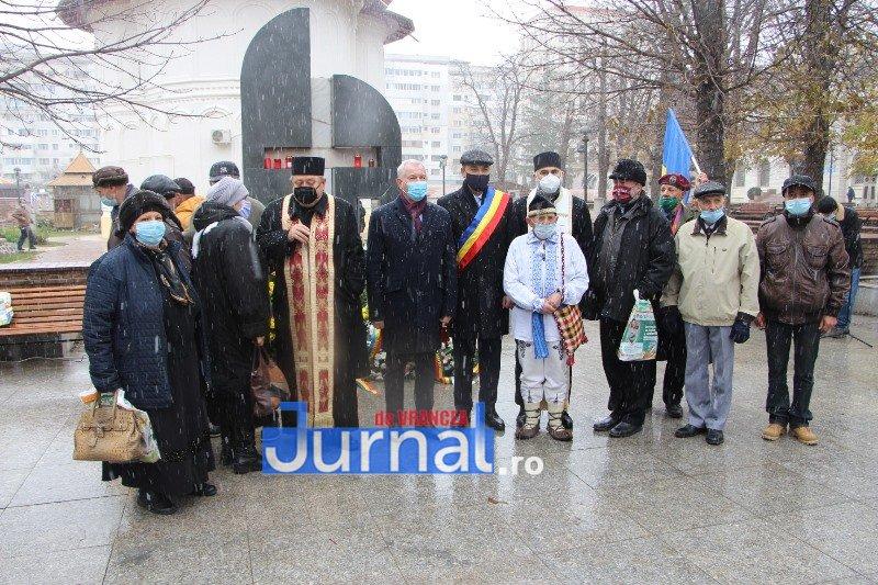 ceremonial eroi 3 - GALERIE FOTO: Eroii Revoluției din Decembrie 1989, comemorați în cadrul unui eveniment organizat de Primăria Focșani