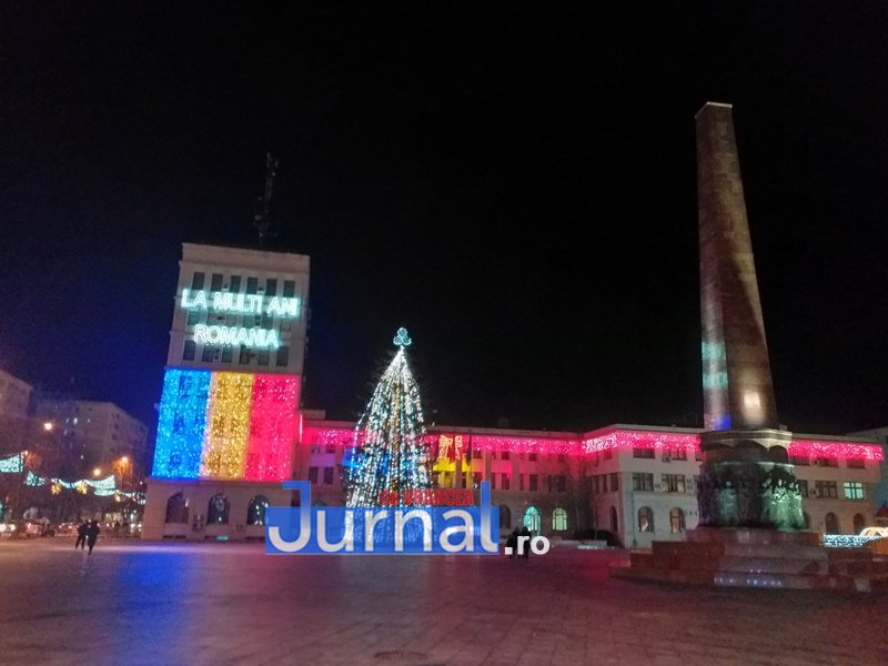 luminite sarbatori 1 - FOTO/ VIDEO. Vin, sărbătorile vin: Au fost aprinse luminile festive în Piața Unirii și în Orășelul Copiilor