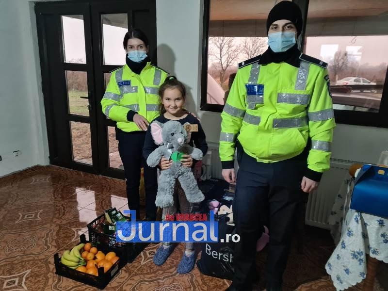 sf andrei ipj 1 - GALERIE FOTO: Onomastică de neuitat pentru Andrei și Andreea, copiii de suflet ai polițiștilor vrânceni
