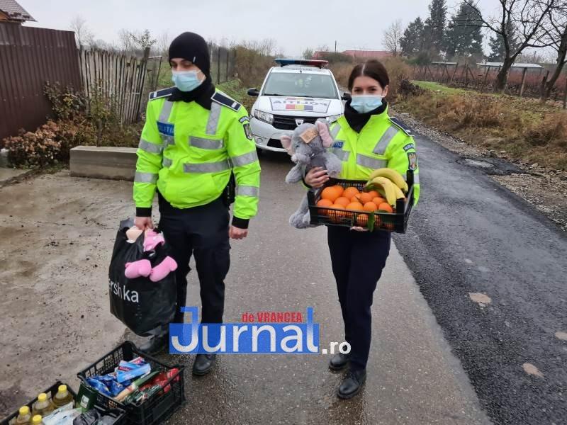 sf andrei ipj 4 - GALERIE FOTO: Onomastică de neuitat pentru Andrei și Andreea, copiii de suflet ai polițiștilor vrânceni