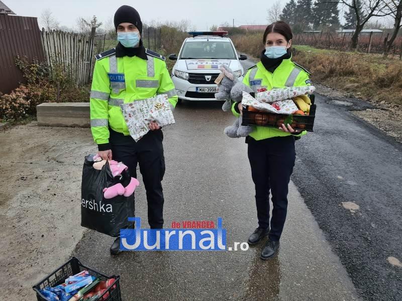 sf andrei ipj 8 - GALERIE FOTO: Onomastică de neuitat pentru Andrei și Andreea, copiii de suflet ai polițiștilor vrânceni