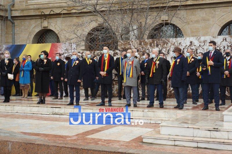 24 ianuarie 2021 1 - VIDEO și FOTO! Ziua Unirii sărbătorită în regim de pandemie la Focșani