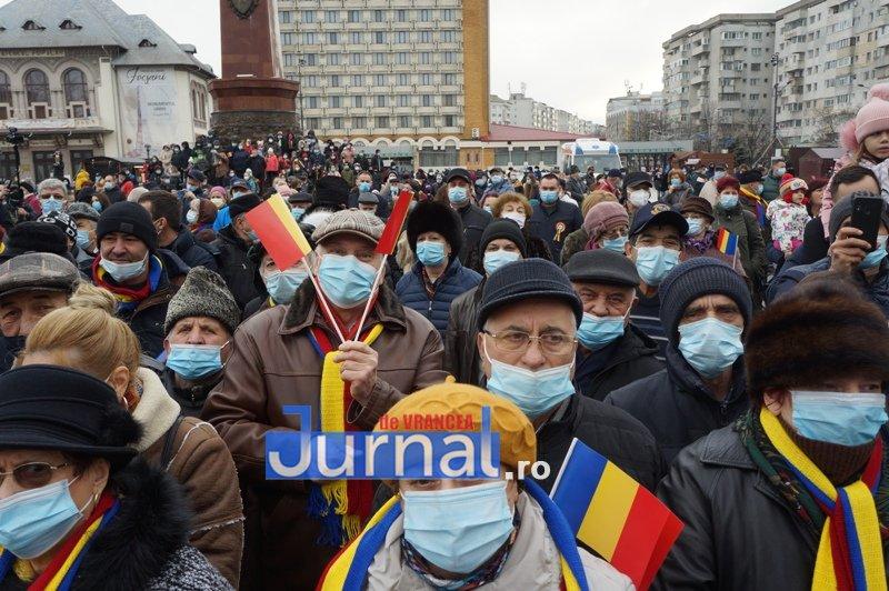 24 ianuarie 2021 17 - VIDEO și FOTO! Ziua Unirii sărbătorită în regim de pandemie la Focșani