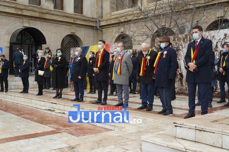24 ianuarie 2021 3 - VIDEO și FOTO! Ziua Unirii sărbătorită în regim de pandemie la Focșani