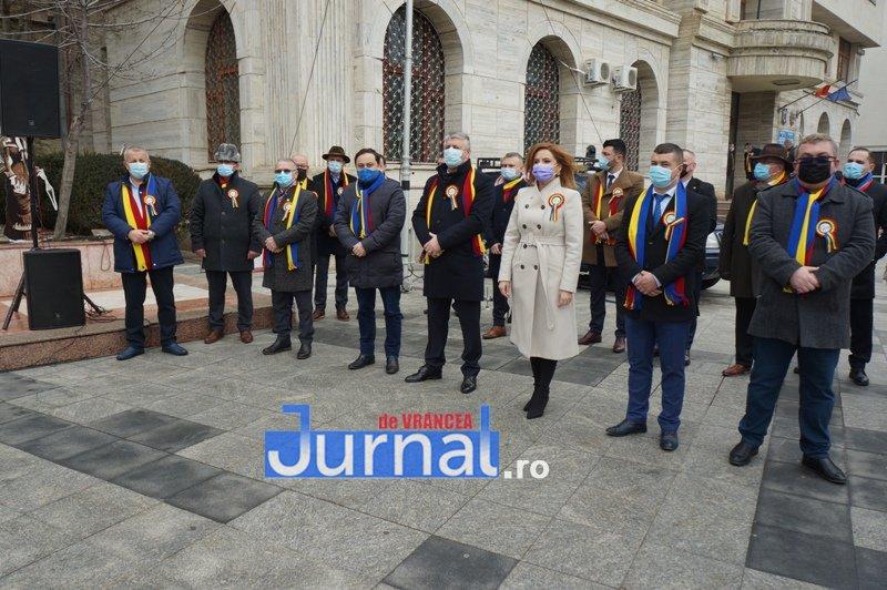 24 ianuarie 2021 4 - VIDEO și FOTO! Ziua Unirii sărbătorită în regim de pandemie la Focșani