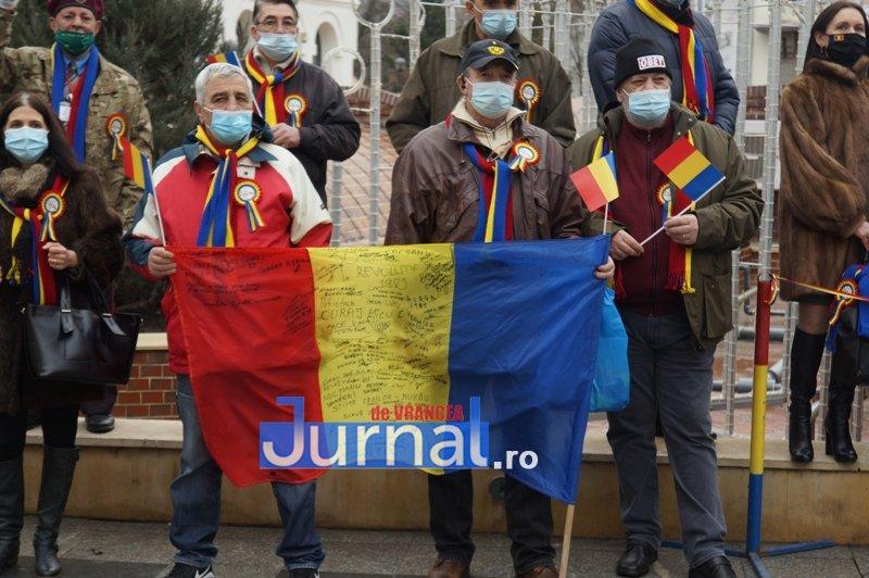 24 ianuarie 2021 5 - VIDEO și FOTO! Ziua Unirii sărbătorită în regim de pandemie la Focșani