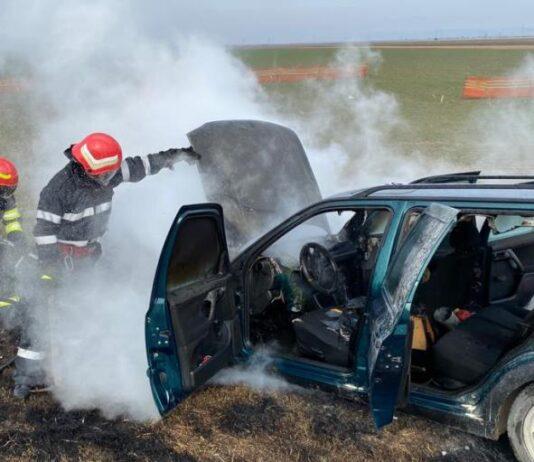 incendiu autoturism 2a 534x462 - Jurnal de Vrancea